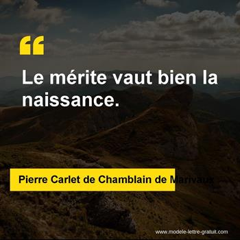 Citations Pierre Carlet de Chamblain de Marivaux
