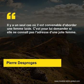 Citations Pierre Desproges