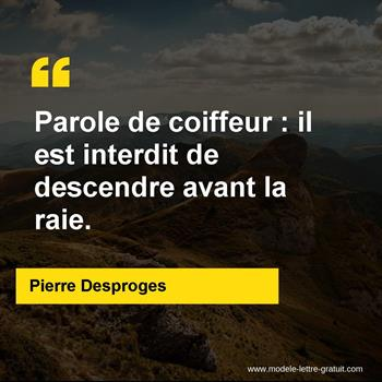 Citations Pierre Desproges