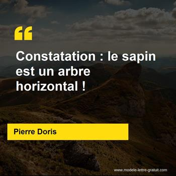 Citations Pierre Doris