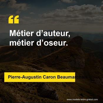 Citations Pierre-Augustin Caron Beaumarchais