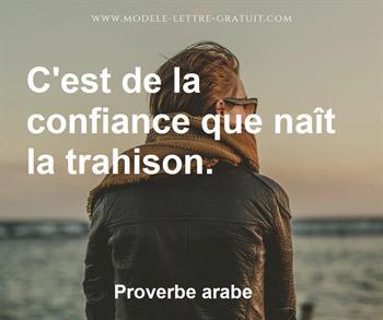 Citation de Proverbe arabe