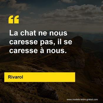 Citations Rivarol