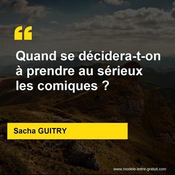 Citations Sacha GUITRY
