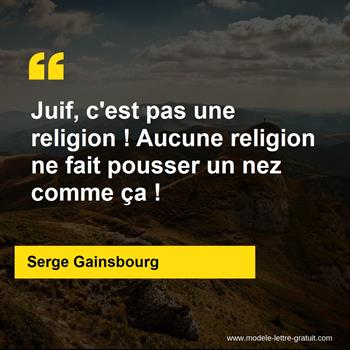Citations Serge Gainsbourg