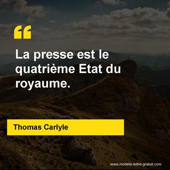Citations Thomas Carlyle