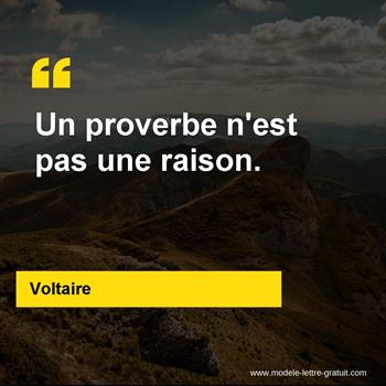 Citations Voltaire