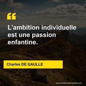 Citations Charles DE GAULLE