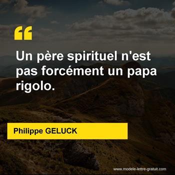 Citations Philippe GELUCK