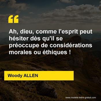 Citations Woody ALLEN