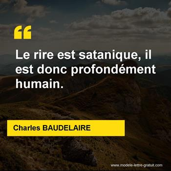 Citations Charles BAUDELAIRE