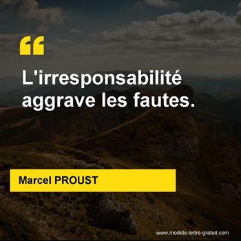 Citations Marcel PROUST