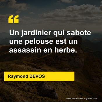 Citations Raymond DEVOS