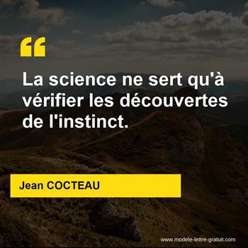 Citations Jean COCTEAU