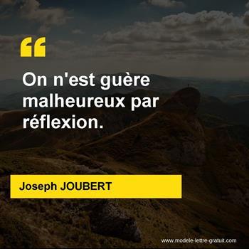 Citations Joseph JOUBERT