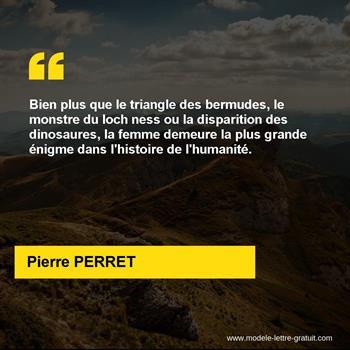 Citations Pierre PERRET