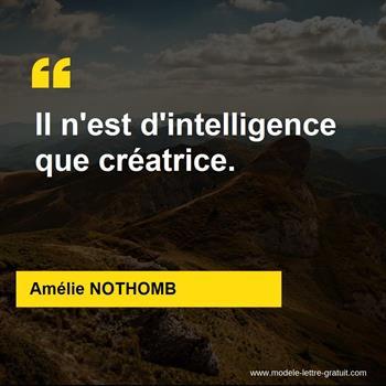 Citations Amélie NOTHOMB