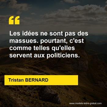 Citation de Tristan BERNARD