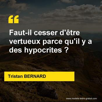Citations Tristan BERNARD