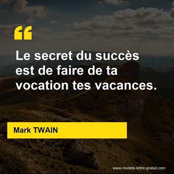 Citations Mark TWAIN