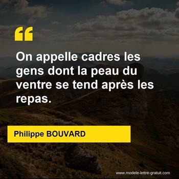 Citations Philippe BOUVARD