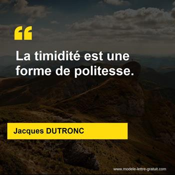 Citations Jacques DUTRONC