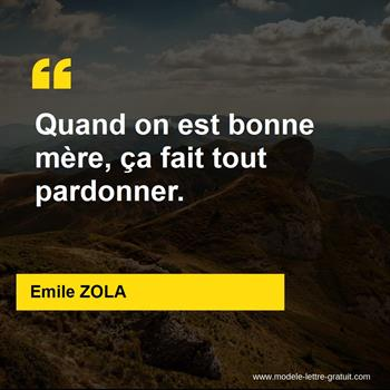 Citations Emile ZOLA