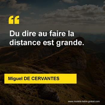 Citations Miguel DE CERVANTES
