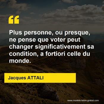 Citations Jacques ATTALI