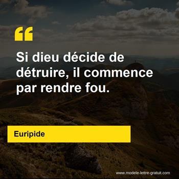 Citations Euripide