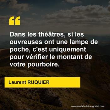 Citations Laurent RUQUIER