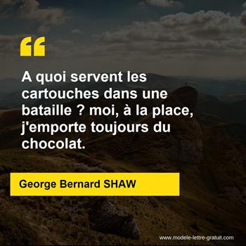Citations George Bernard SHAW