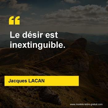 Citations Jacques LACAN
