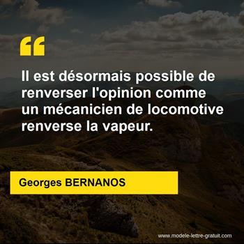 Citations Georges BERNANOS