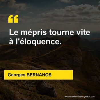 Citations Georges BERNANOS