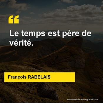 Citations François RABELAIS