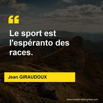 Citations Jean GIRAUDOUX