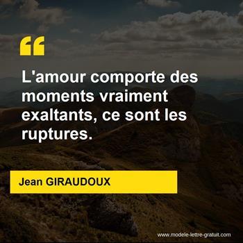 Citations Jean GIRAUDOUX