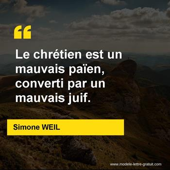 Citations Simone WEIL