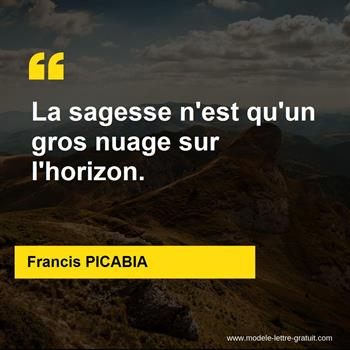 Citations Francis PICABIA