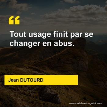 Citations Jean DUTOURD