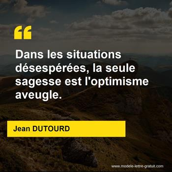 Citations Jean DUTOURD