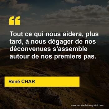 Citations René CHAR