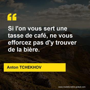 Citations Anton TCHEKHOV