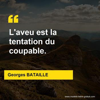 Citations Georges BATAILLE