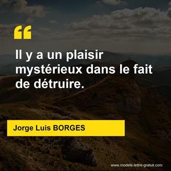 Citations Jorge Luis BORGES