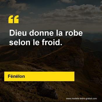 Citations Fénélon