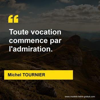 Citations Michel TOURNIER