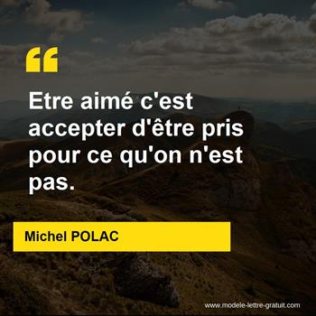 Citations Michel POLAC