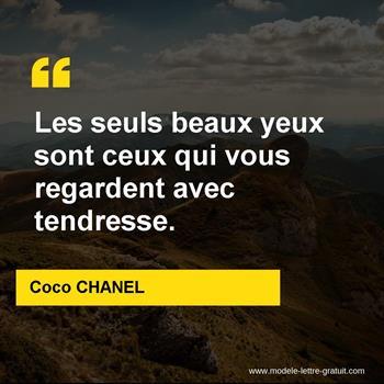 Citations Coco CHANEL